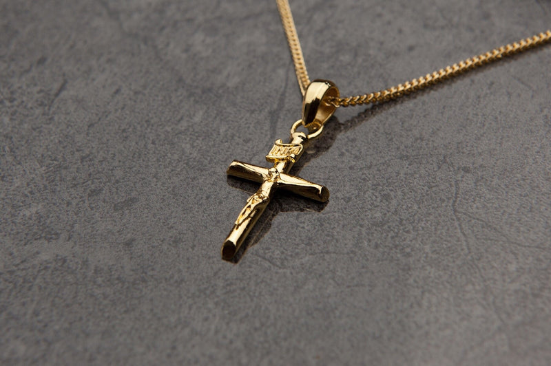 Cross Pendant - (Gold)