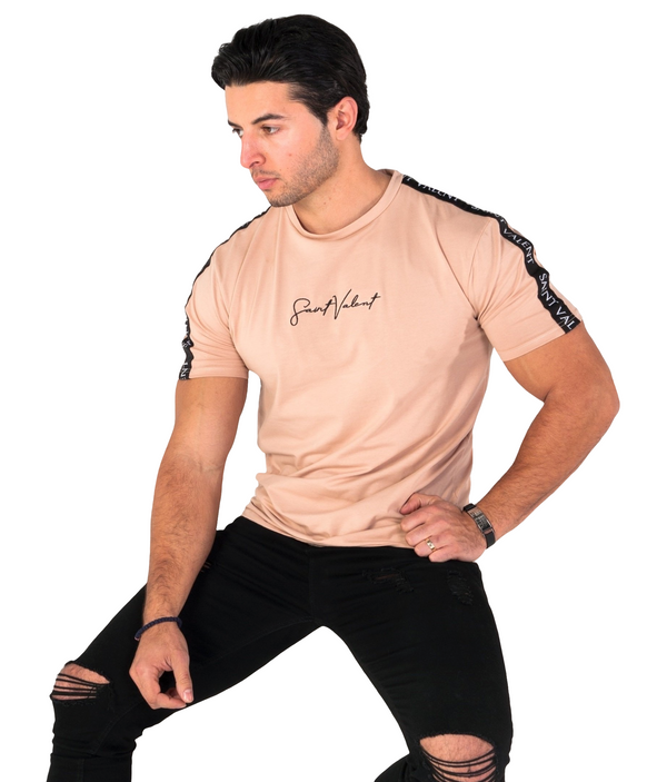 New York Collection - Beige Signature | Tapered Tee