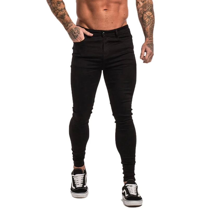 Black Original Muscle Fit Jeans