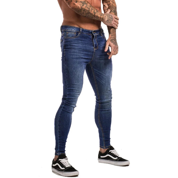 Muscle Fit - Original Dark Blue Jeans