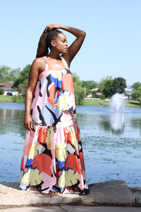 Abstract Sundress