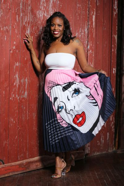 Comic Girl Skirt
