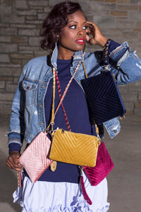 Chevron Crossbody