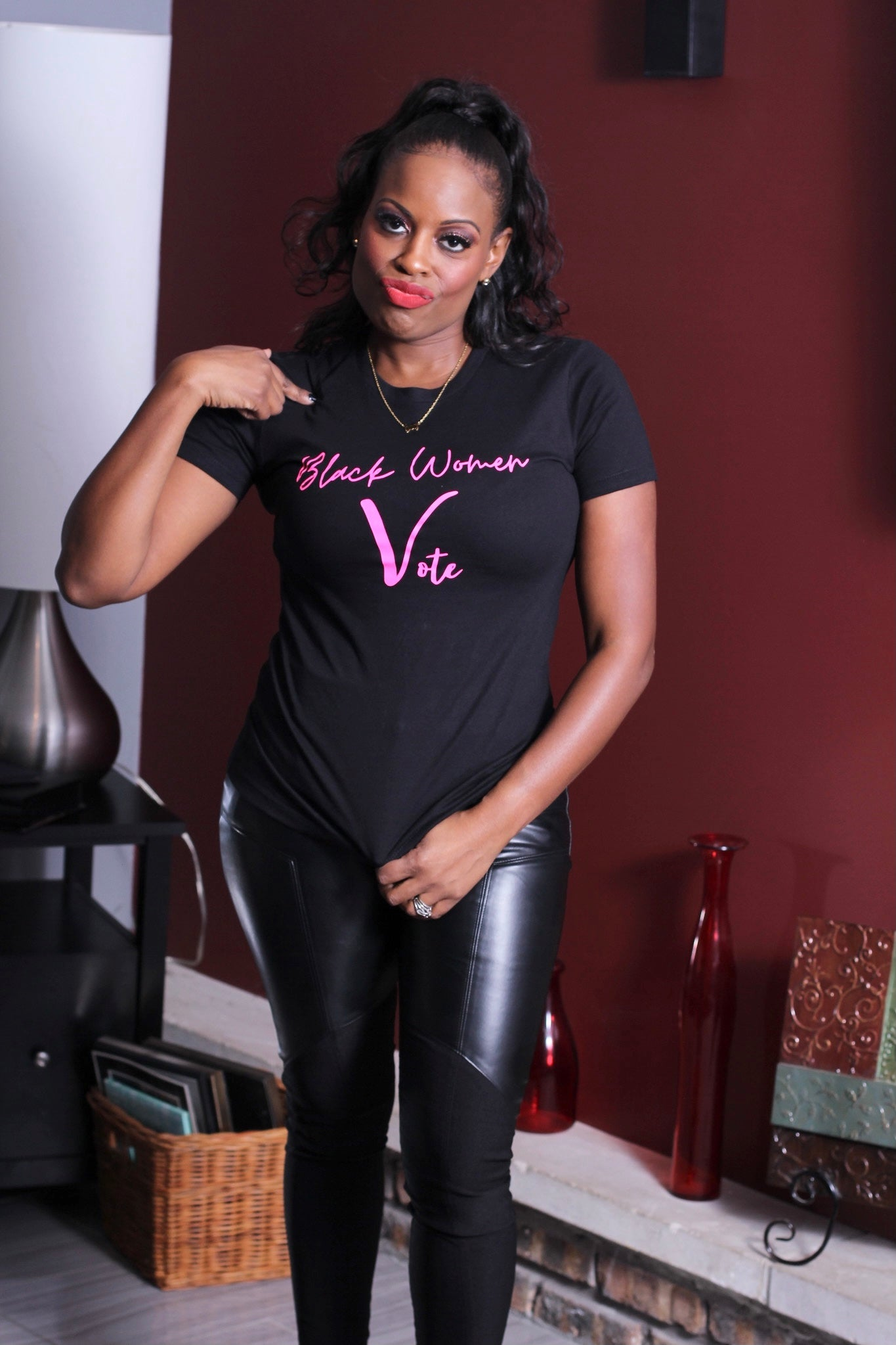 Black Women Vote Tee