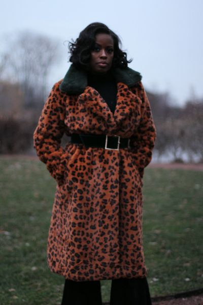 Such A Lady Leopard Coat