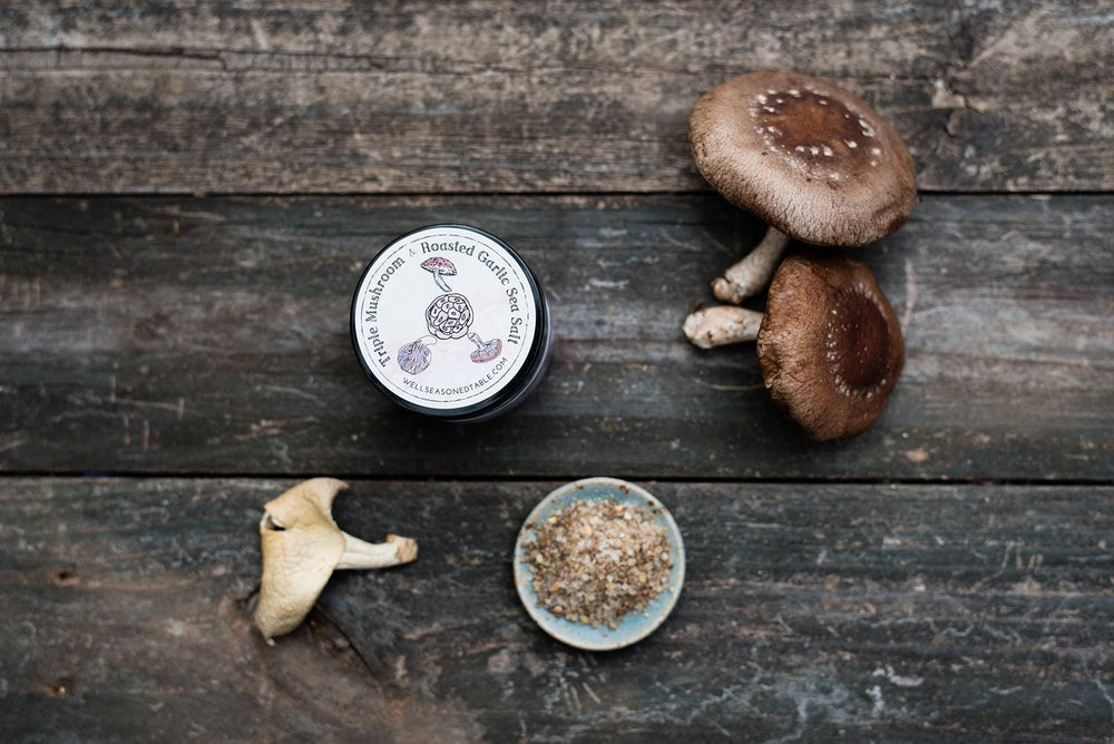 Triple Mushroom & Roasted Garlic Sea Salt