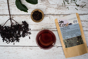 Elderberry Lemon Tea from Well Seasoned Table