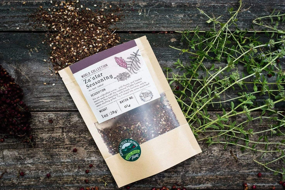 Za'atar Seasoning from Well Seasoned Table