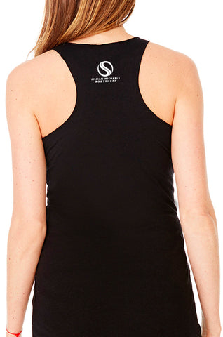 Shredded BODYSHRED Racerback— Black