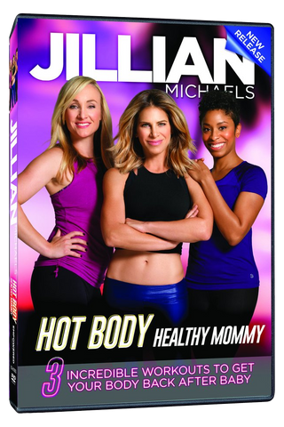Jillian Michaels 'Hot Body, Healthy Mommy' DVD
