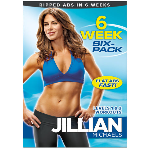 Jillian Michaels '6 Week 6 Pack' DVD