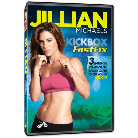 Jillian Michaels 'Kickbox FastFix' DVD