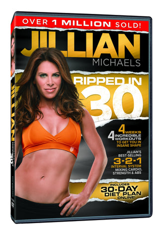 Jillian Michaels 'Ripped in 30' DVD