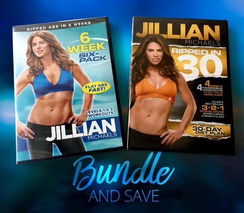 Bundle: Six Week 6 Pack + Ripped in 30