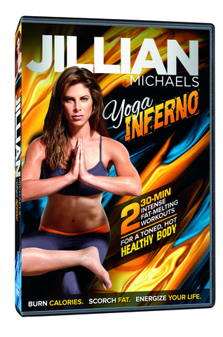 Jillian Michaels 'Yoga Inferno' DVD