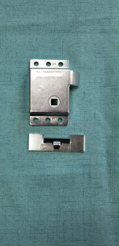 Rear Deck Latch with Striker Plate