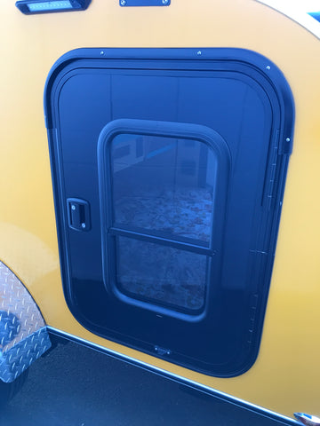 Teardrop Trailer Entry Door