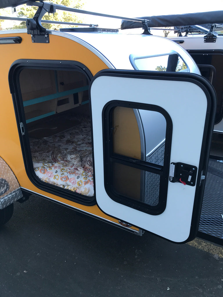 Teardrop Trailer Entry Door – Aero Teardrops Parts