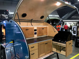 5x10' High-Clearance Teardrop Trailer (Custom)