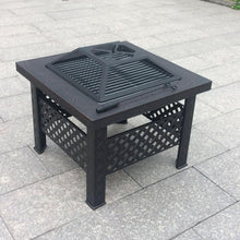 Load image into Gallery viewer, 66 X 66 square fire pit