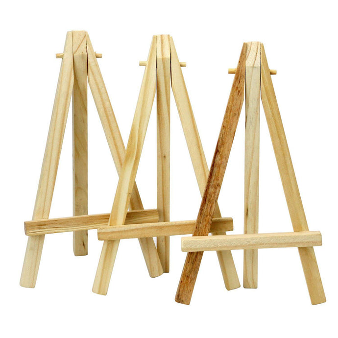 6 inch Tall Wooden Easels Menu Holder