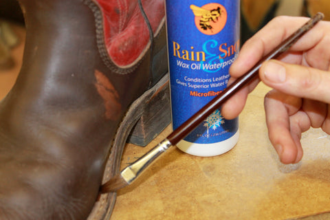 Handmade boot conditioner