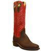 "16"" Upper With Tulip Stitching - Beck Handmade Cowboy Boots"