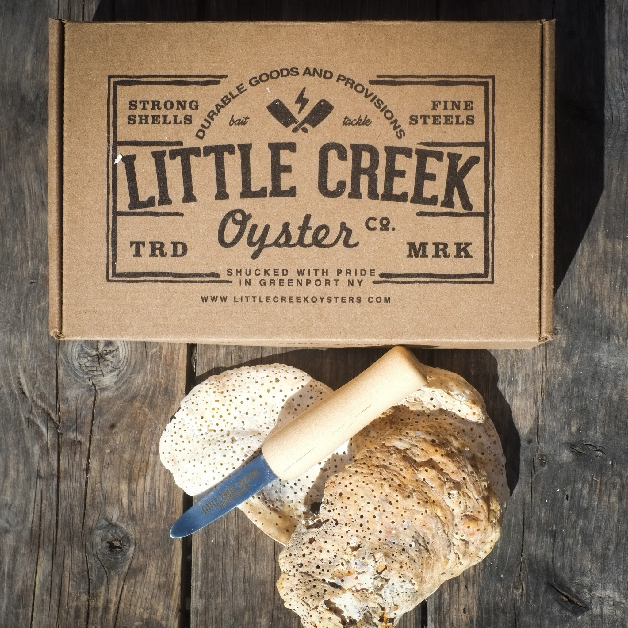 LCO BOX: Little Creek EDC - LITTLE CREEK OYSTER FARM & MARKET