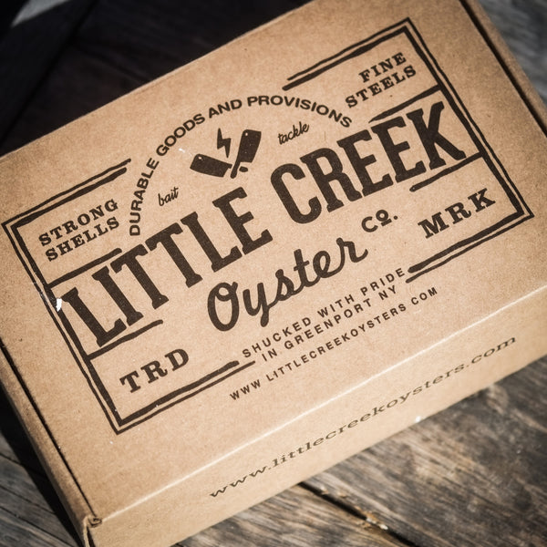 LCO BOX #3:Oyster Knife Reclaimed from the decks of the Laurel - LITTLE CREEK OYSTER FARM & MARKET