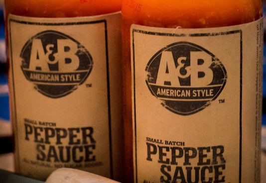 A&B American Style Pepper Sauce - LITTLE CREEK OYSTER FARM & MARKET