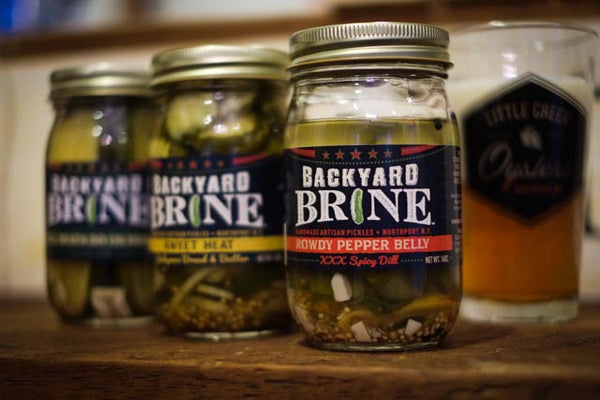 Backyard Brine Pickles - LITTLE CREEK OYSTER FARM & MARKET