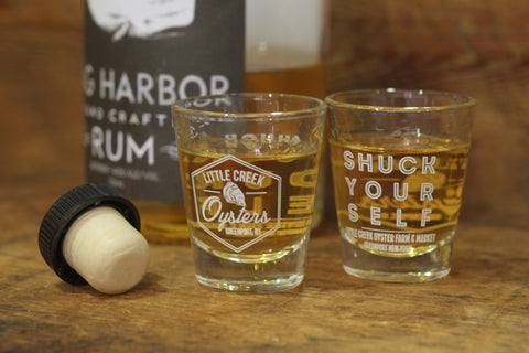Little Creek Oyster's Shot Glass