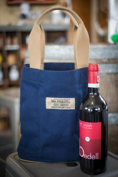Wm. J. Mills Wine Carrier - LITTLE CREEK OYSTER FARM & MARKET