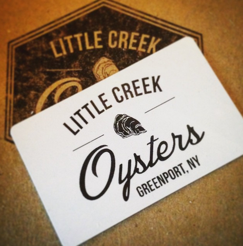 Little Creek Oysters' Gift Card