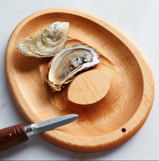 The Half-Sheller Shucking Board - LITTLE CREEK OYSTER FARM & MARKET