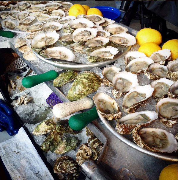Raw Bar at home with 24 each oysters, clams, shrimp. - LITTLE CREEK OYSTER FARM & MARKET