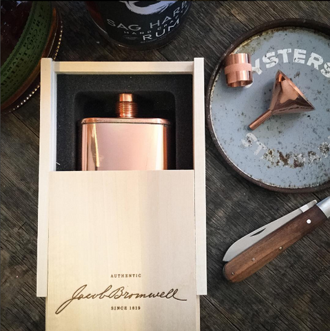 The Vermonter Flask by Jacob Bromwell