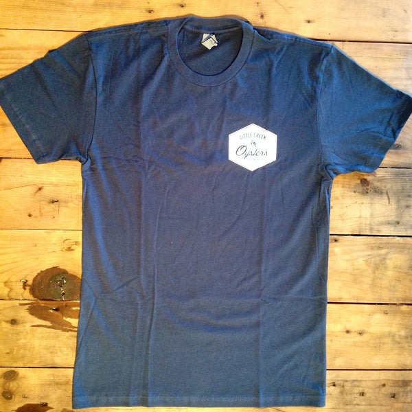 Our Signature T-Shirt, Traditional Fit or Trim Cut - LITTLE CREEK OYSTER FARM & MARKET