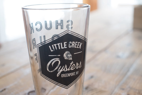 Little Creek Pint Glass - LITTLE CREEK OYSTER FARM & MARKET