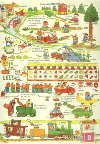 【收藏級】Richard Scarry's Biggest Word Book Ever!
