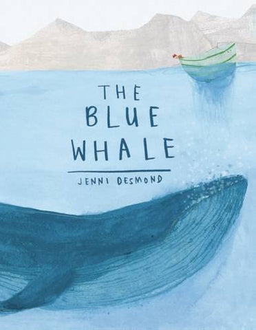 【STEM繪本】The Blue Whale, by Jenni Desmond *低庫存