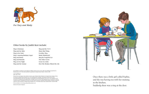 【立體書】 The Tiger Who Came To Tea Pop-up Book