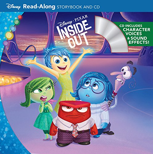 Read-Along Storybook and CD 平裝繪本 Inside Out (含故事音檔CD)