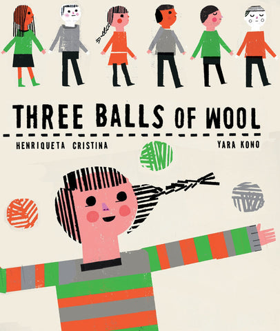Three Balls of Wool, by Henriqueta Cristina