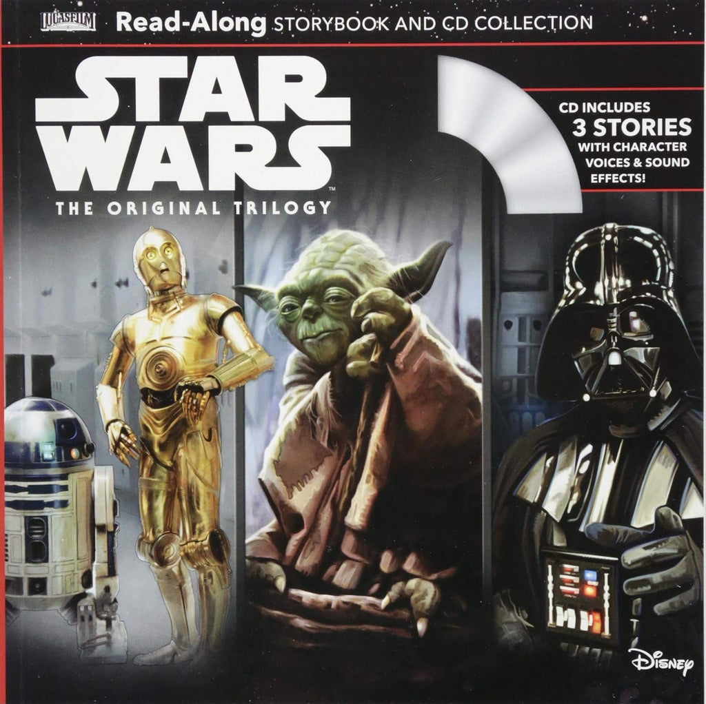 Star Wars CD 有聲書 Combo:Star Wars The Original Trilogy
