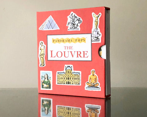 The Louvre popup book
