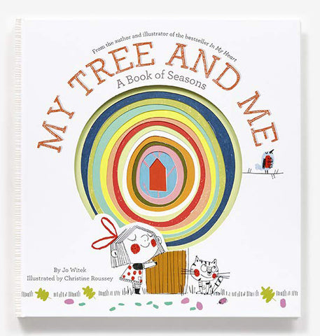 【四季繪本】My Tree and Me, by Jo Witek