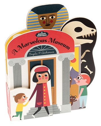 硬頁書 Bookscape Board Books: A Marvelous Museum by Ingela P. Arrhenius
