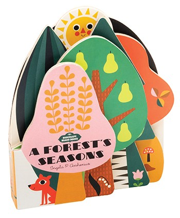 硬頁書 Bookscape Board Books: A Forest's Seasons by Ingela P. Arrhenius