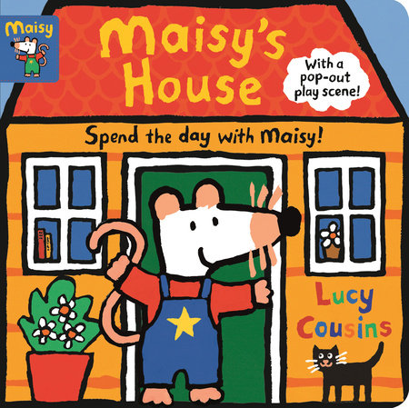 遊戲書 Maisy's House: Complete with Durable Play Scene